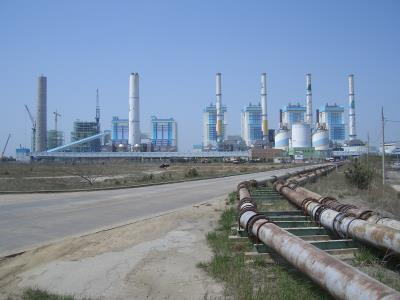 Power plant in Korea