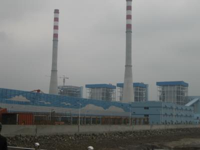 600 MW power plant in China