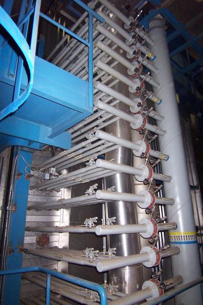 Ammonia injection grid